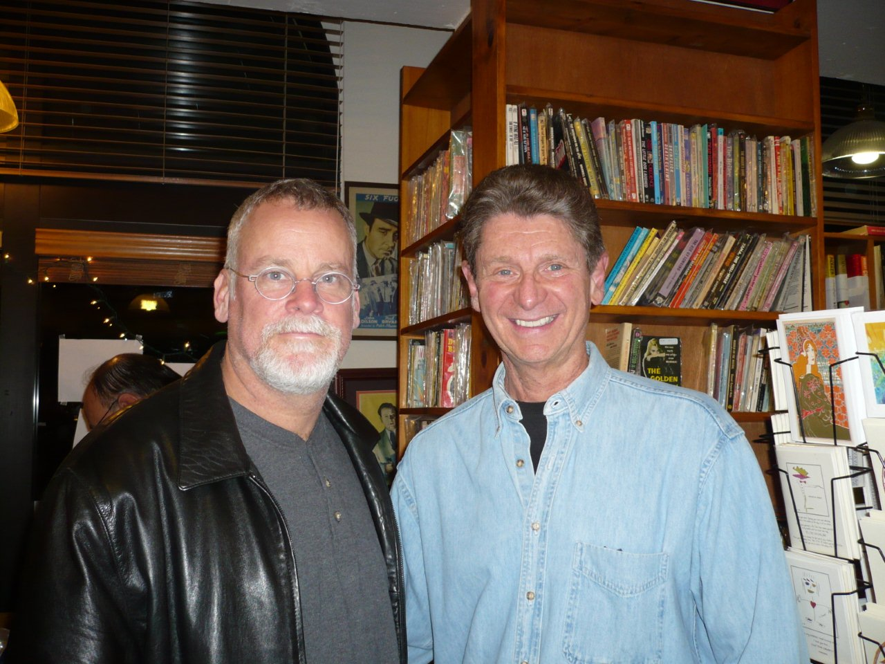 Paul with Michael Connelly