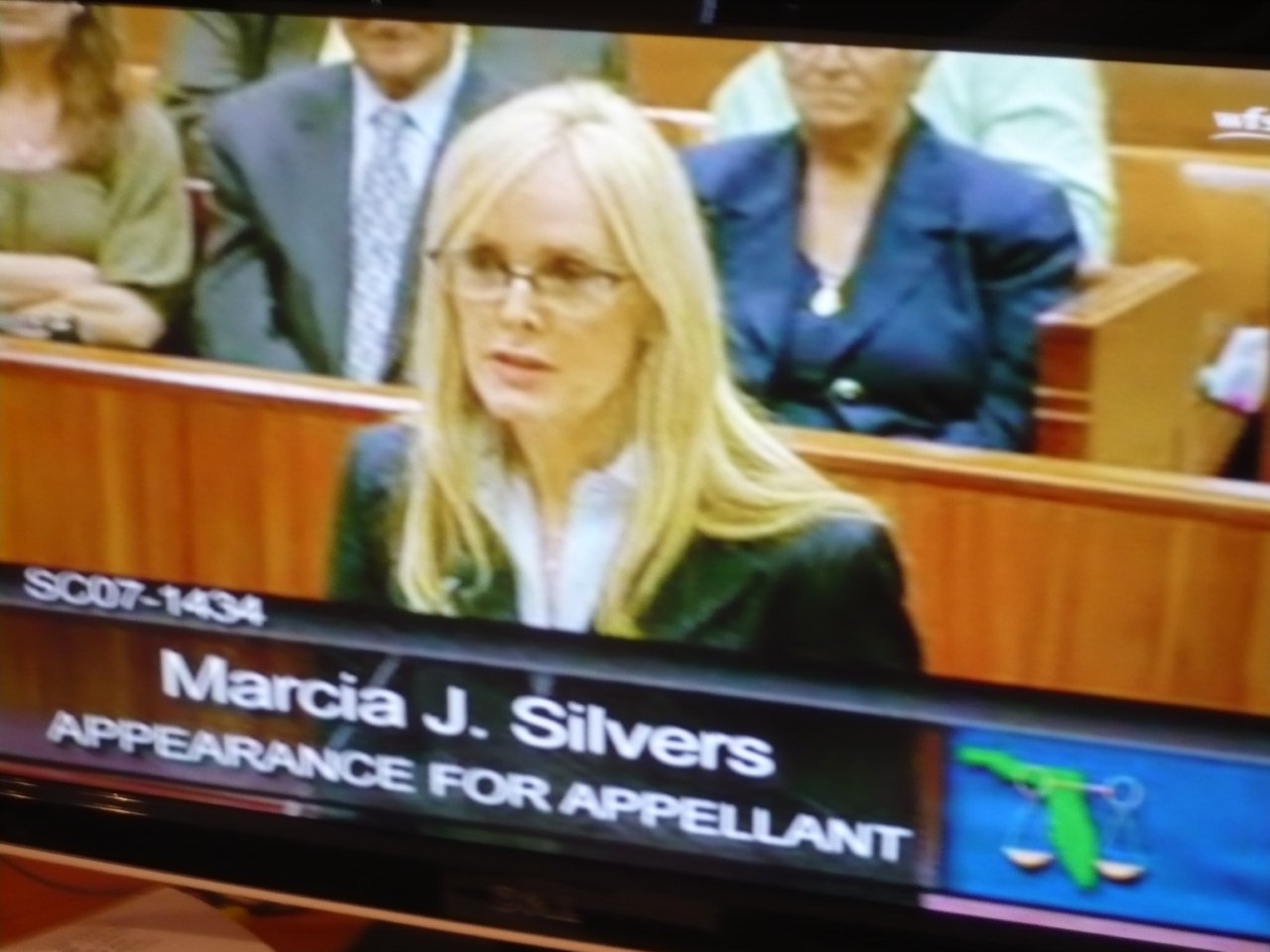 Marcia at the Florida Supreme Court