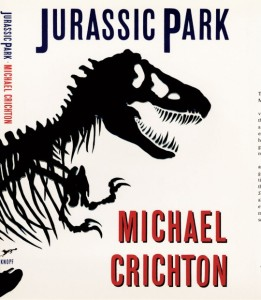 Book Covers: Jurassic Park