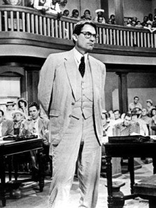 Atticus Finch in court
