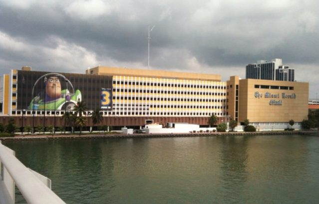 The Miami Herald building