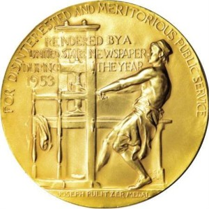 pulitzer 1953 medallion