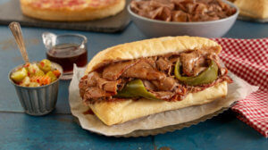 pizza places italian beef
