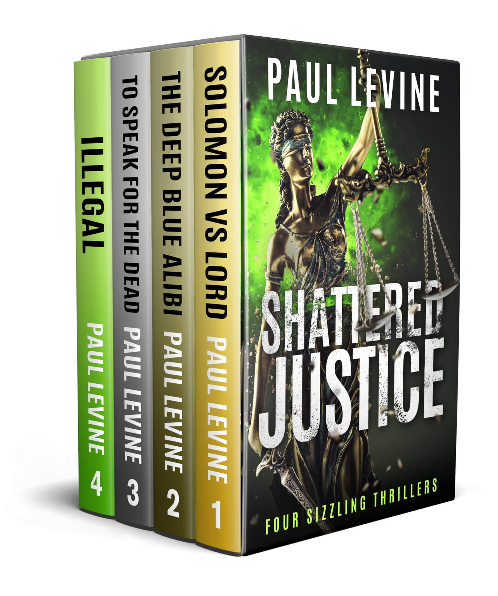 SHATTERED JUSTICE – A Boxed Set of Four Bestsellers
